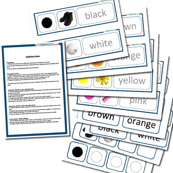 Colour Teaching Cards