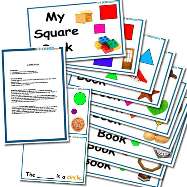 11 Learn To Read Shape Books
